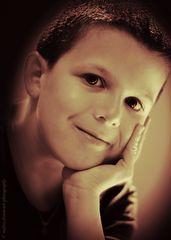 portrait of my son Magnus