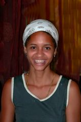Portrait of our hostess Leonor