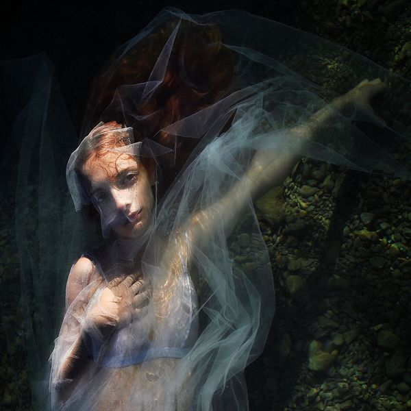 portrait of water doll
