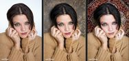 "Portrait-Retusche & Fotomontage ""My heart goes out to you"" von Richard F. K."