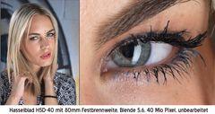 Portrait Testfoto (Auge)