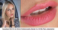Portrait Testfoto (Lippen)