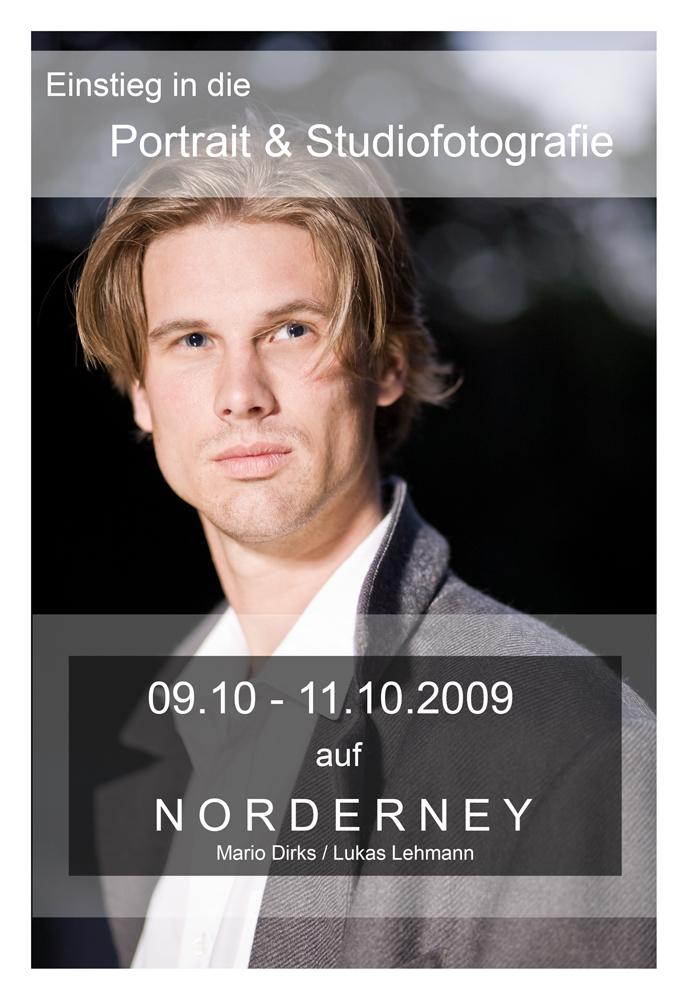 Portrait und Studiotechnik für Einsteiger auf Norderney !