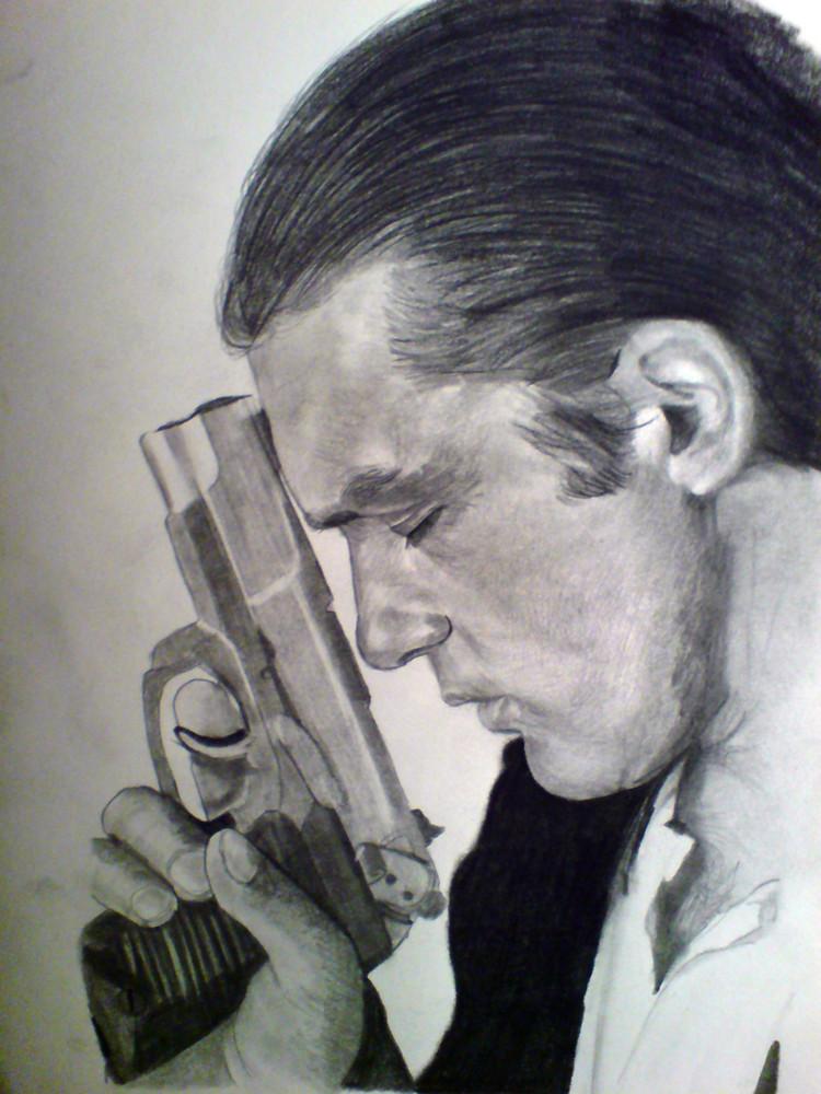 Portrait von Antonio Banderas aus Desperado