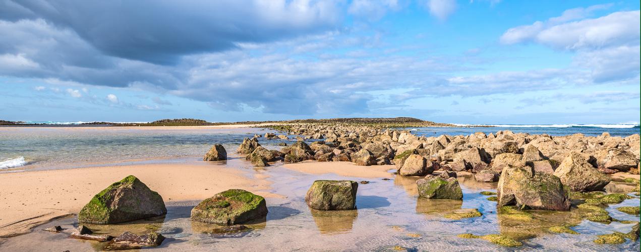 Portugal, Alentejo, Praia do Farol, Mündung Rio Mira_03 (neuer Beschnitt aufgrund fc Hinweis)