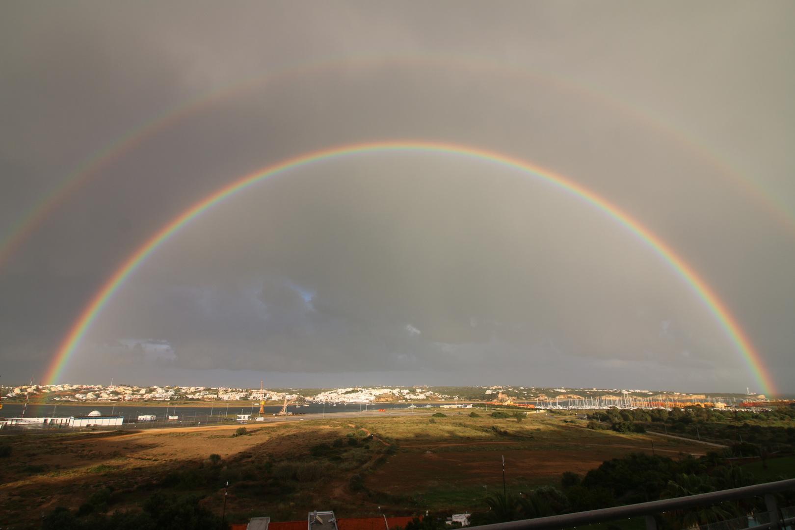 Portugal Ferragudo Regenbogen