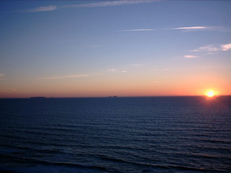 Portugal Sommer Sonnenuntergang