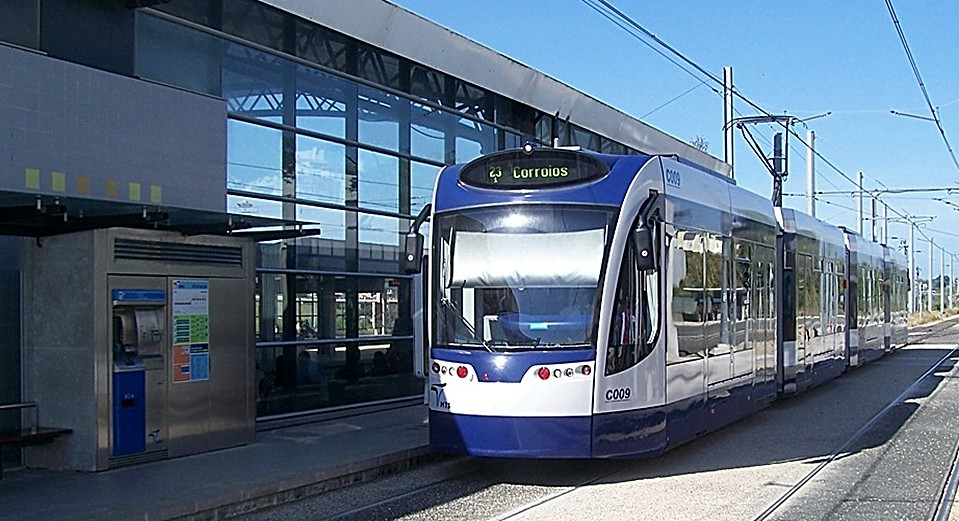 Portugals neuster Straßenbahnbetrieb