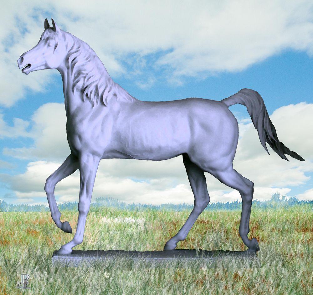 Porzellan - Pferd