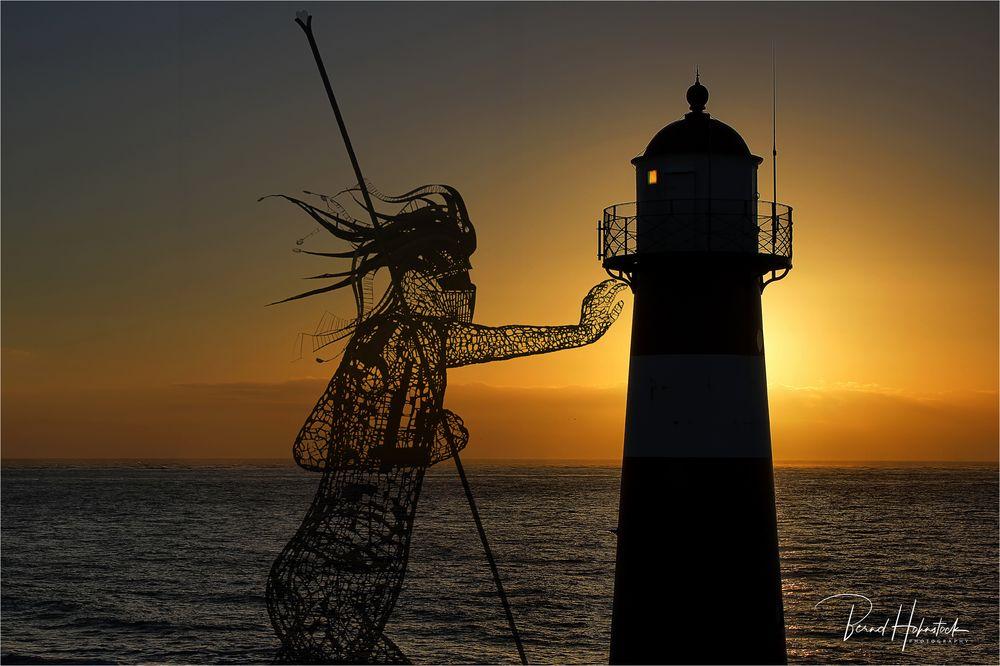 Poseidon auf Zeeland ...
