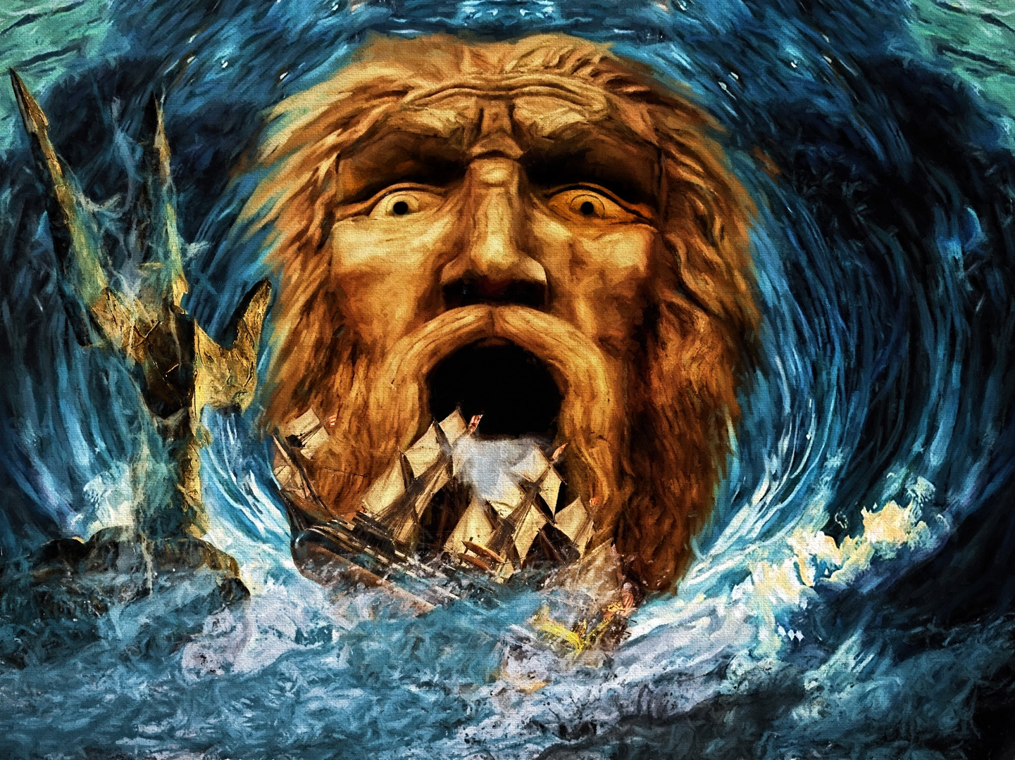 Poseidons Zorn