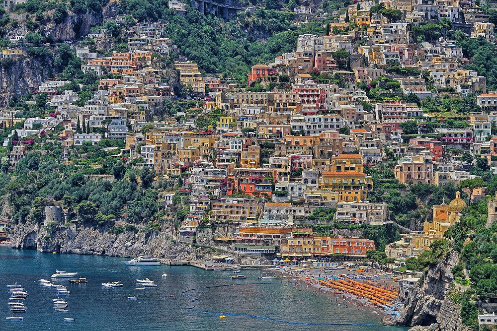 Positano, Städtchen an der Amalfiküste