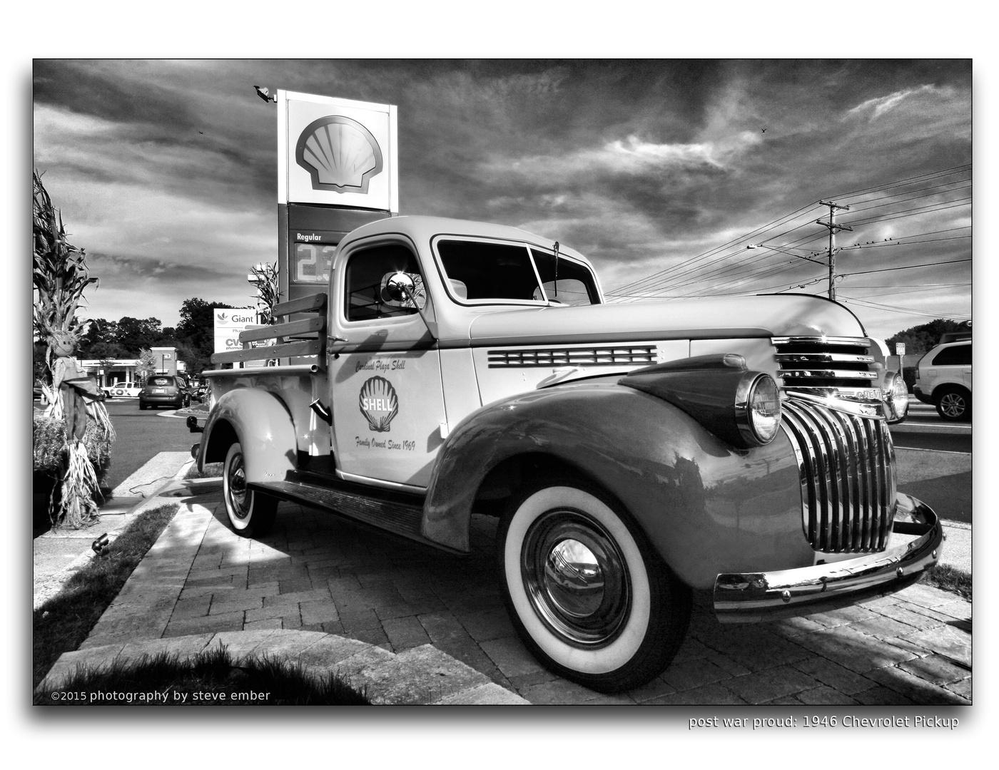 Post-War Proud: 1946 Chevrolet Pickup
