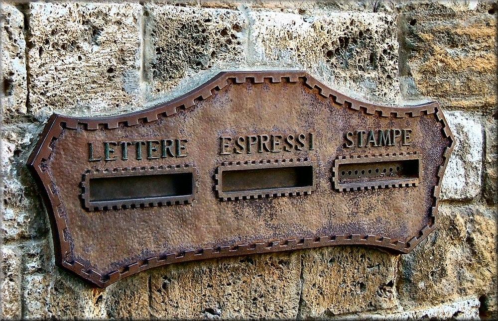 Posta a San Gimignano