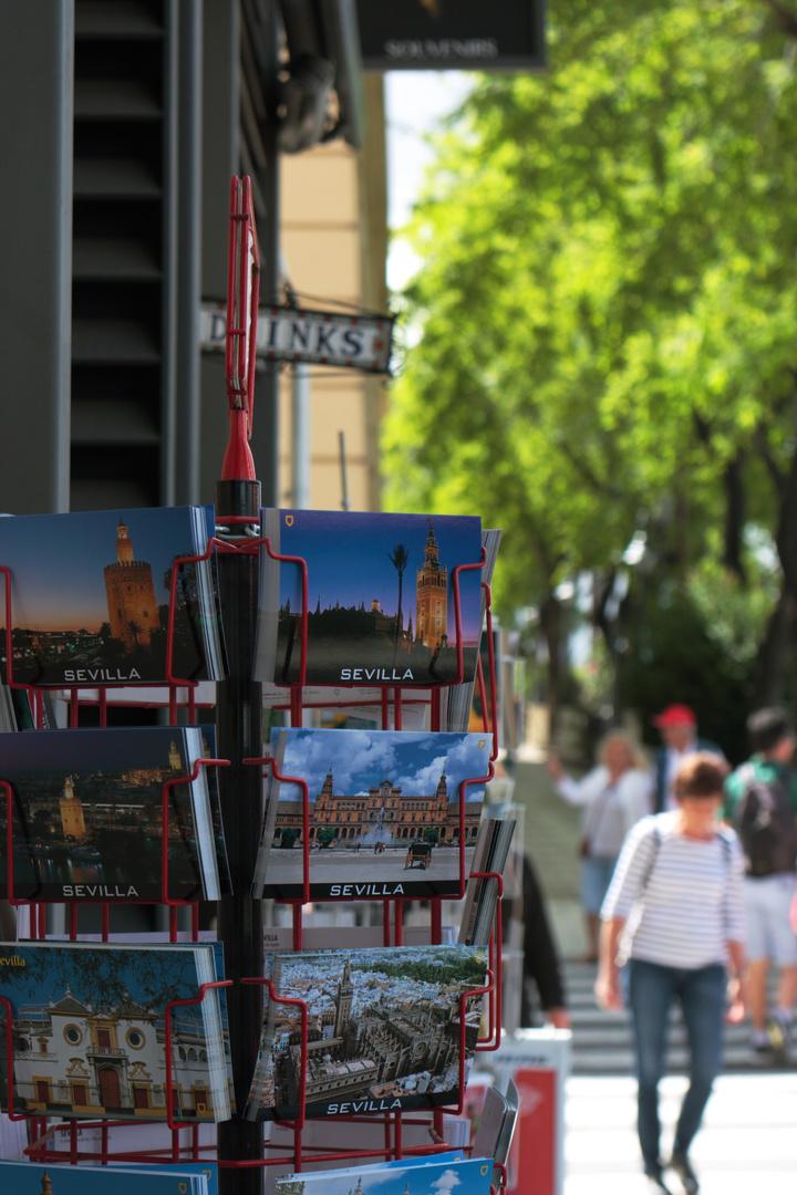 postales para turistas