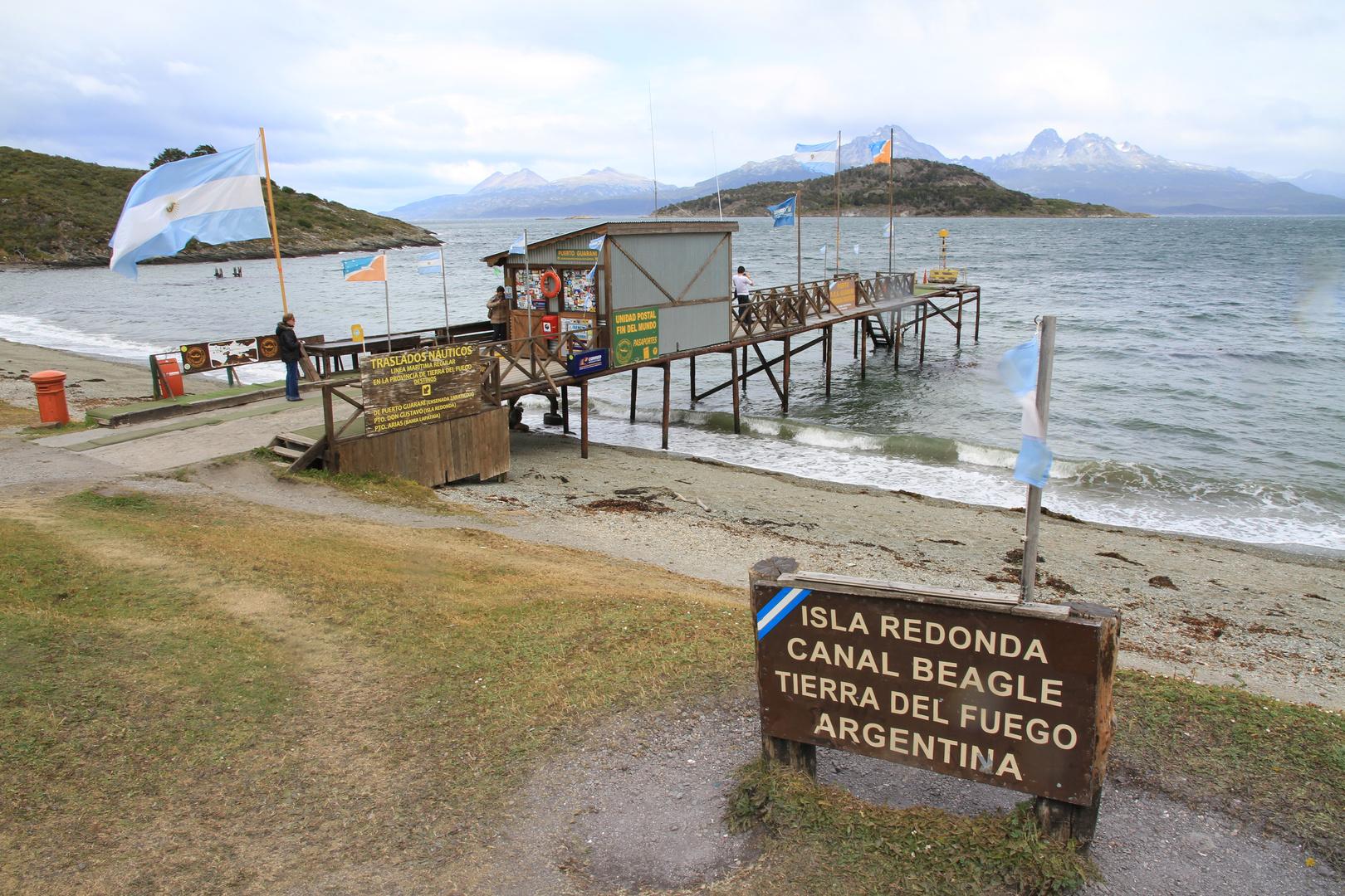 Postamt am Beagle-Kanal