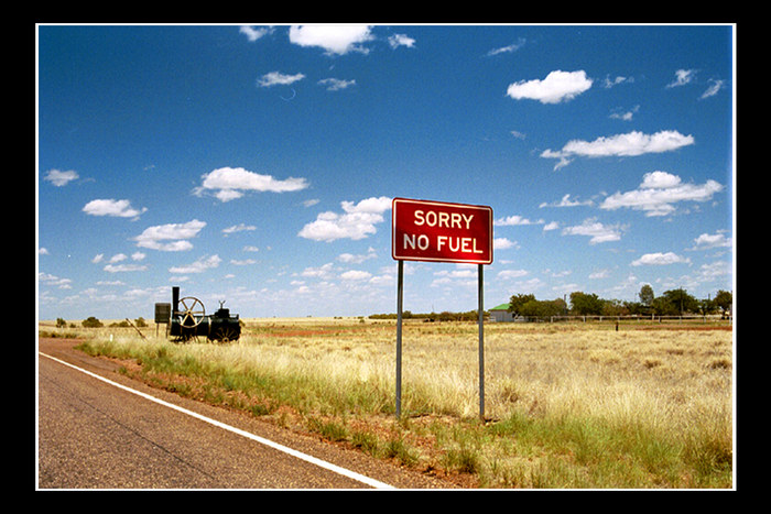 Postcard from Australia: Somewhere in the middle of nowhere