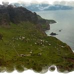 Postcard from north Madeira island.