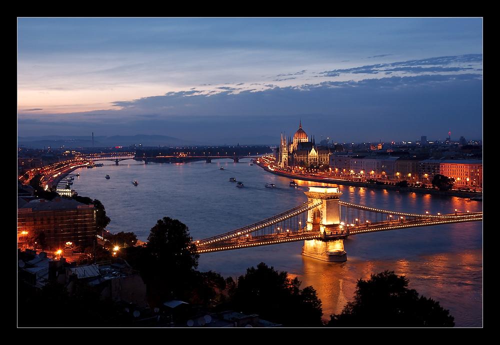 Postkarte aus Budapest