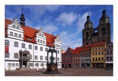 Postkarte aus Wittenberg