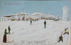 Postkarte v. 1910 : Brockenhotel