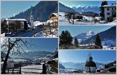 Postkarte von Oberau