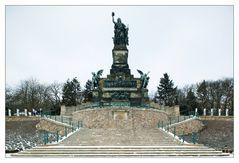 Postkartenansicht des Niederwalddenkmals