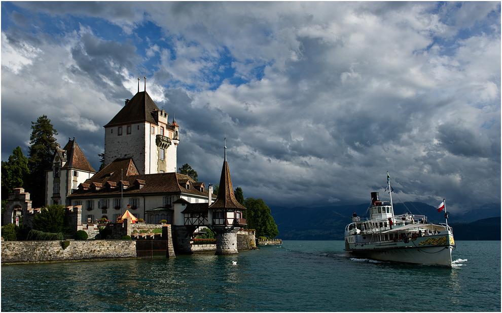 Postkartenmotiv: Schloss Oberhofen