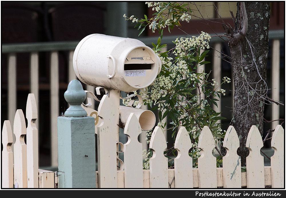 Postkastenkultur #1 in Australien