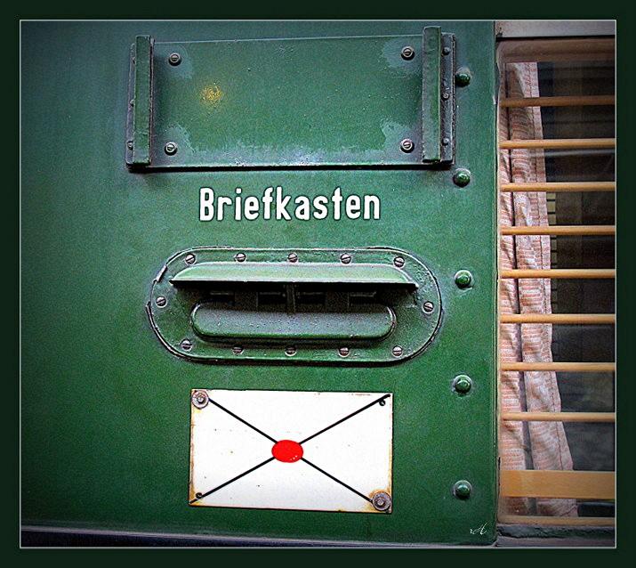Postkastl -  Anno 1912