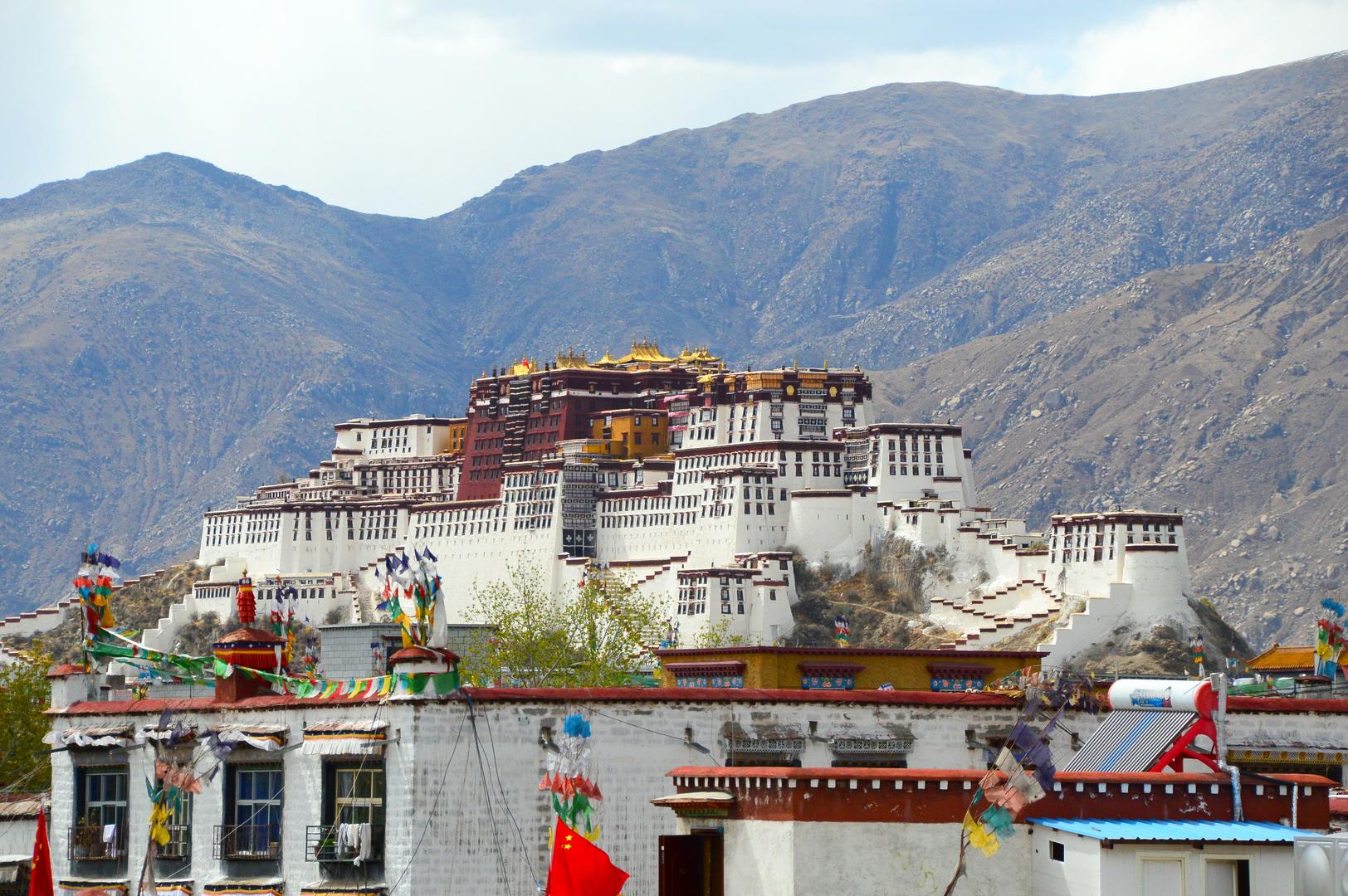 Potala Palast in Lhasa