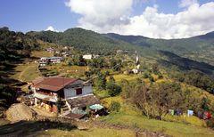 Pothana auf dem Weg zum Annapurna Base Camp