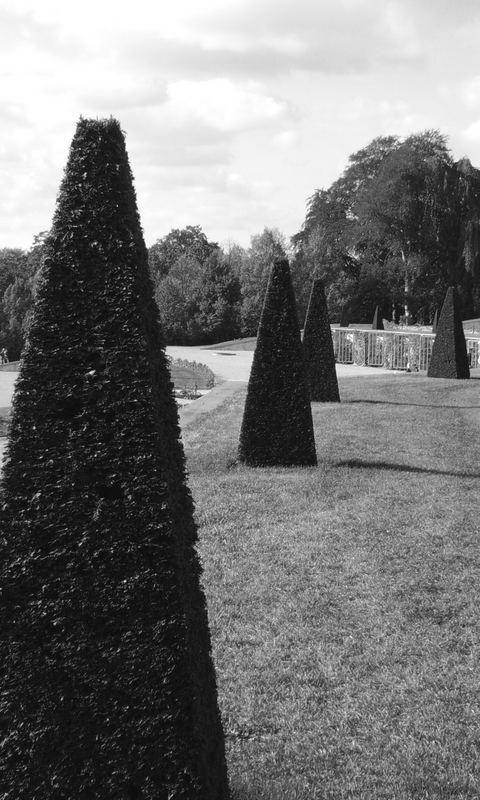 Potsdam 2006: Im Schlosspark