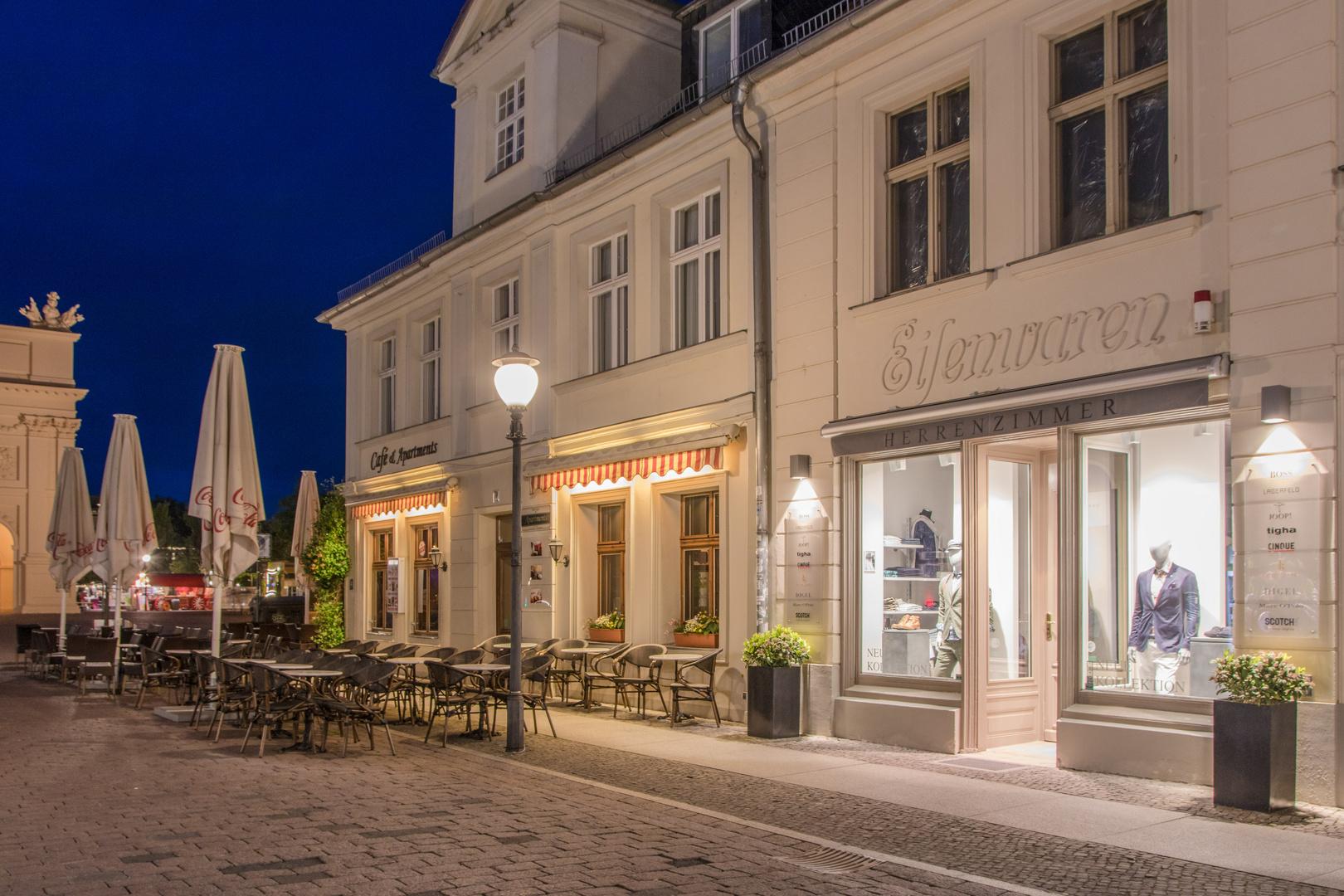 Potsdam at night