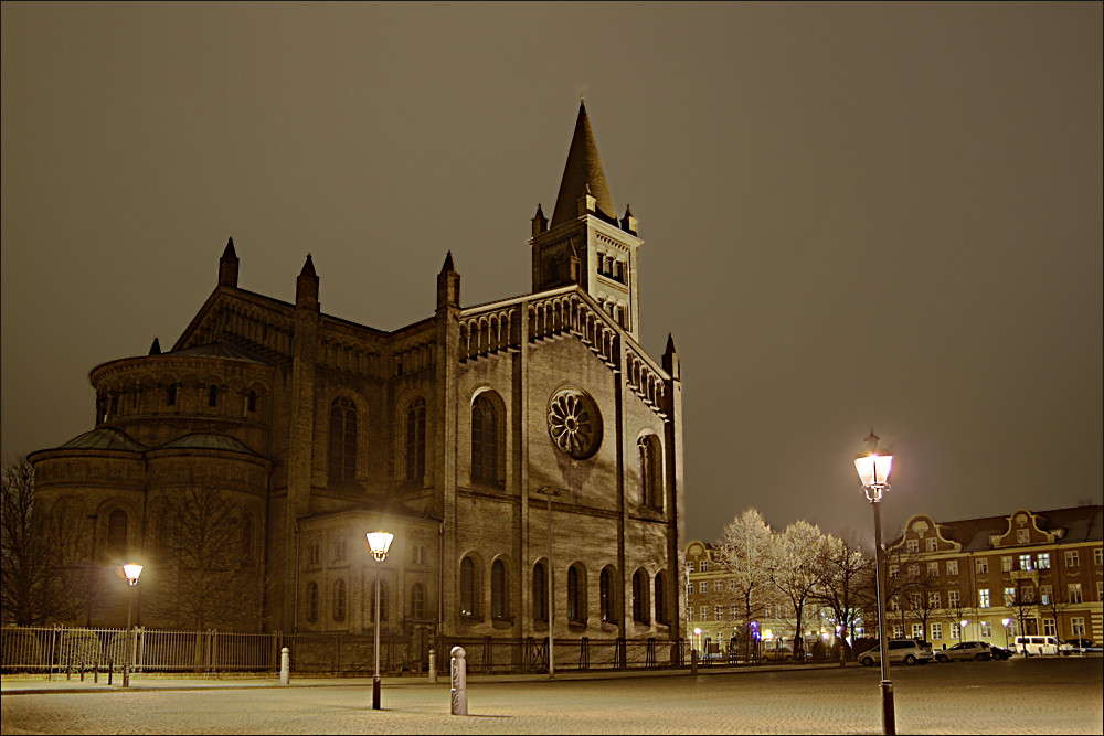 """Potsdam bei nacht"""
