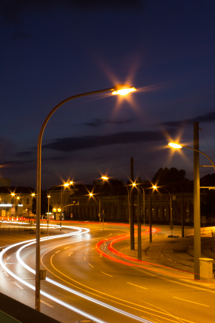 Potsdam bei Nacht
