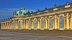 POTSDAM   - Schloss Sanssouci -