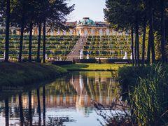 Potsdam - Schloss Sanssouci / Weinbergterrassen