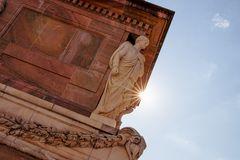 Potsdam Statue mit Sonnenstrahl