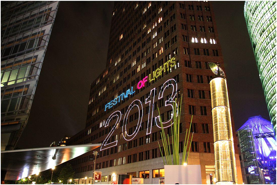 Potsdamer Platz - Festival of Lights 2013