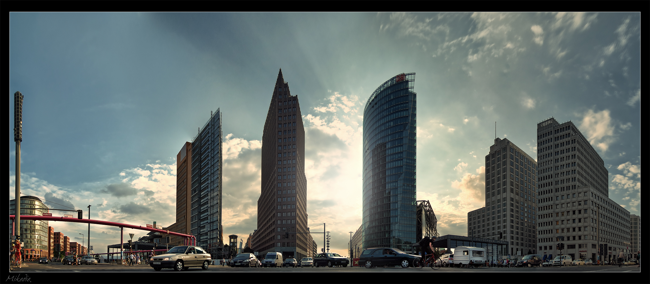 Potsdamer Platz Panorama