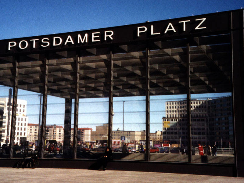 Potsdamer Platz, U- und S-Bahnhof