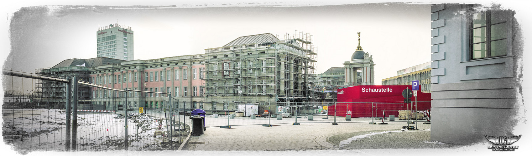 Potsdamer Stadtschloss, Februar 2013