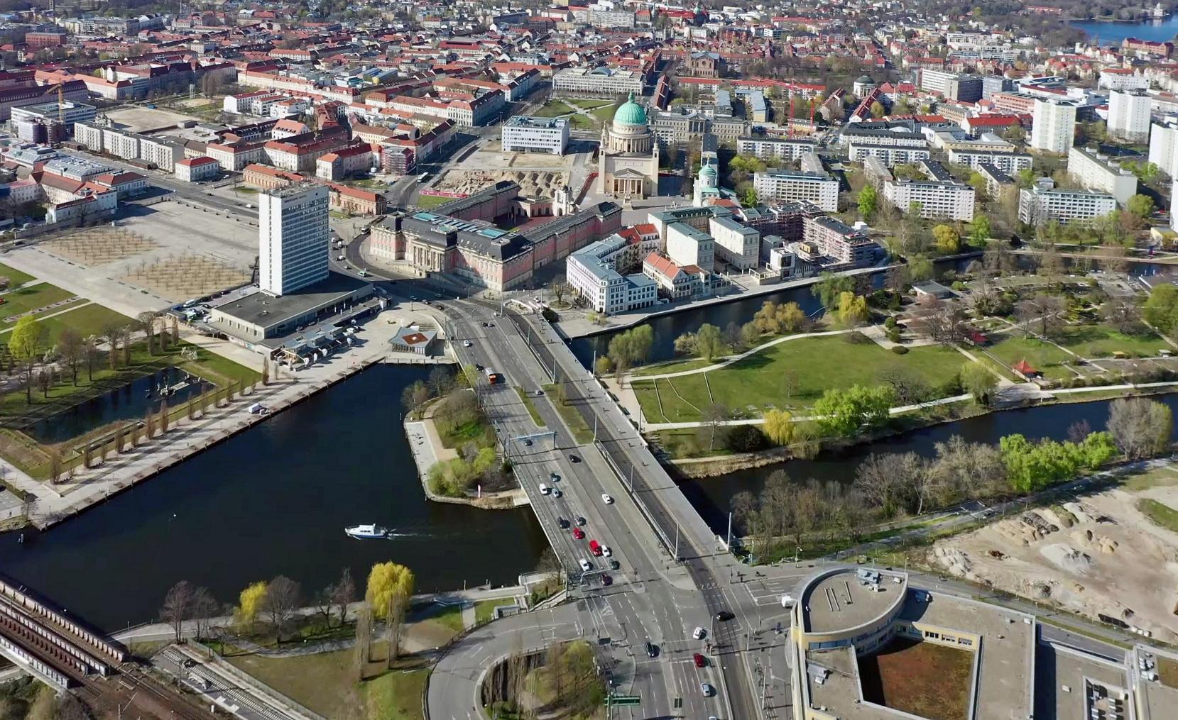 Potsdams neue Mitte.