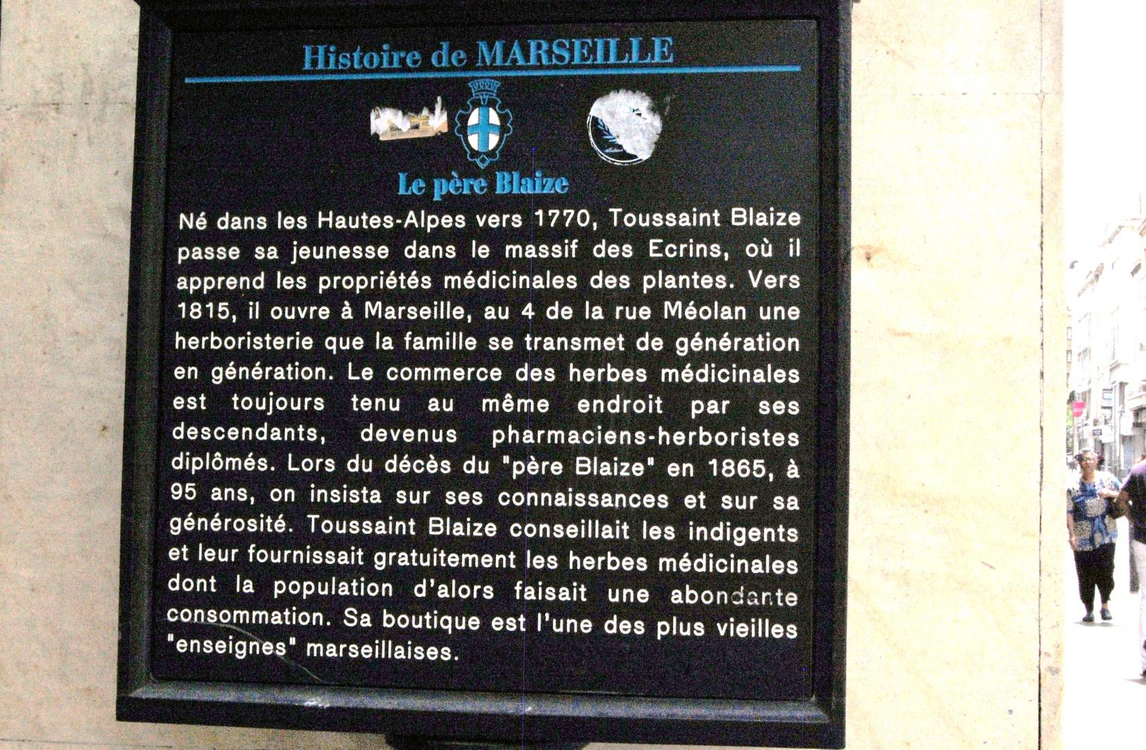 pour l'Histoire de Marseile