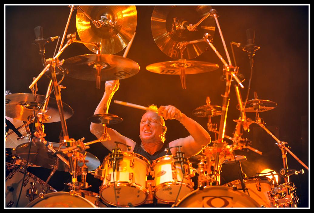 Power pur: Drummer Mike Terana (von Tarja Turunen)