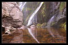 Powerscourt Estate - Wasserfall