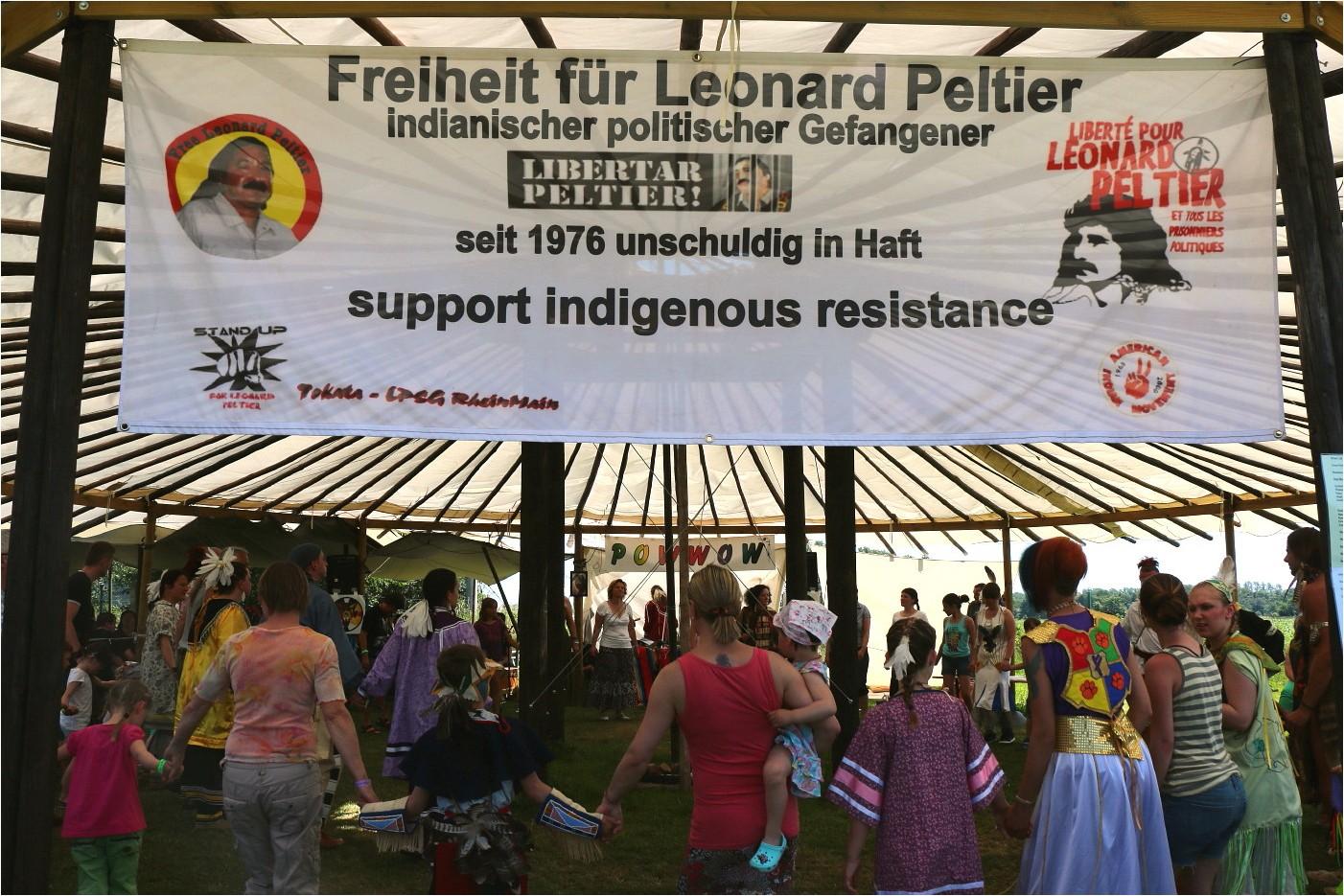 Powwow (for Leonard Peltier)