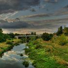 Poznan,  die Brücke über die Cybina