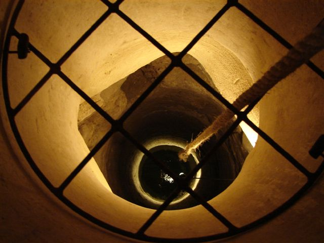 Pozo en la Sinagoga del Agua en Úbeda (Jaén)